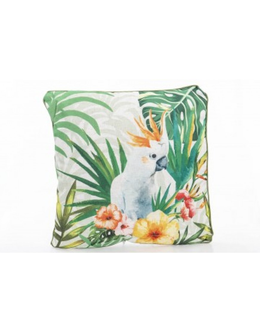 Cushion Bird and Flowers