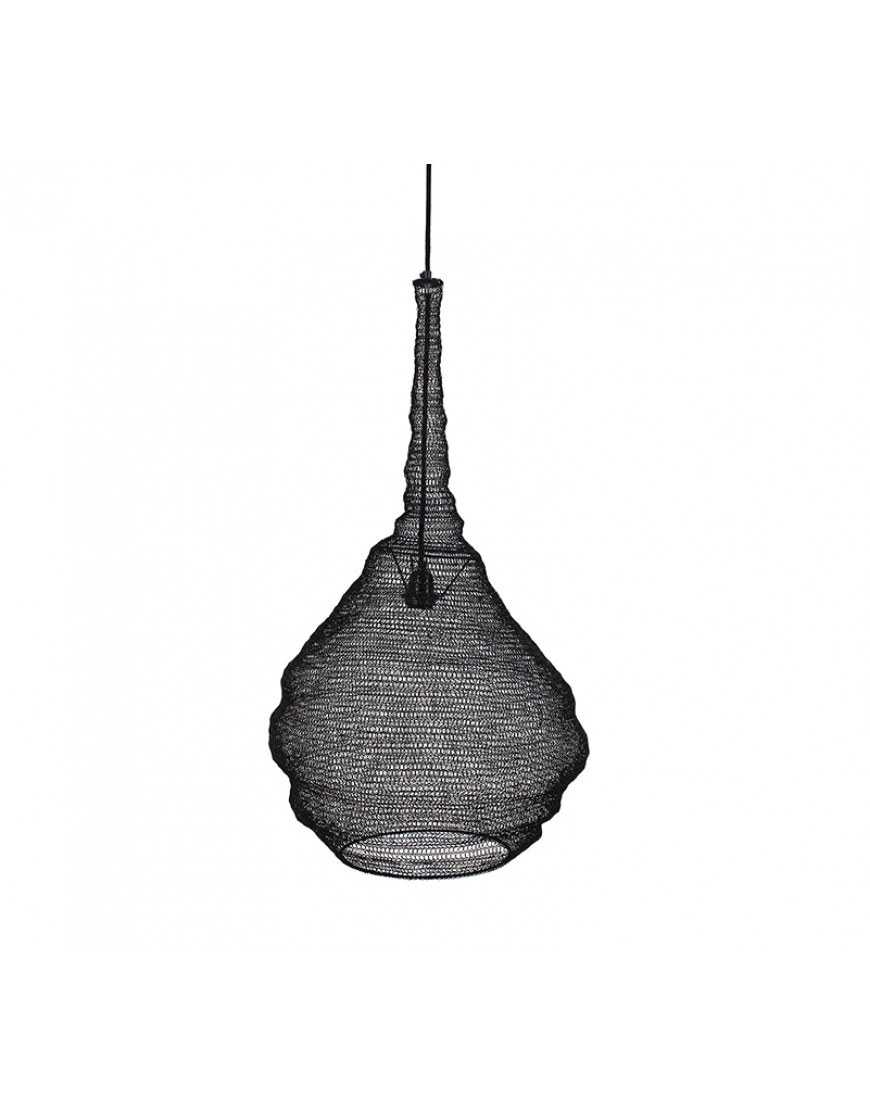 Ceiling Lamp Black 77