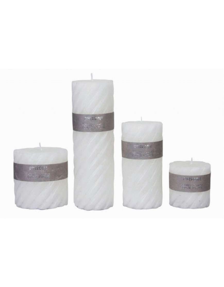 Candle Swirl white