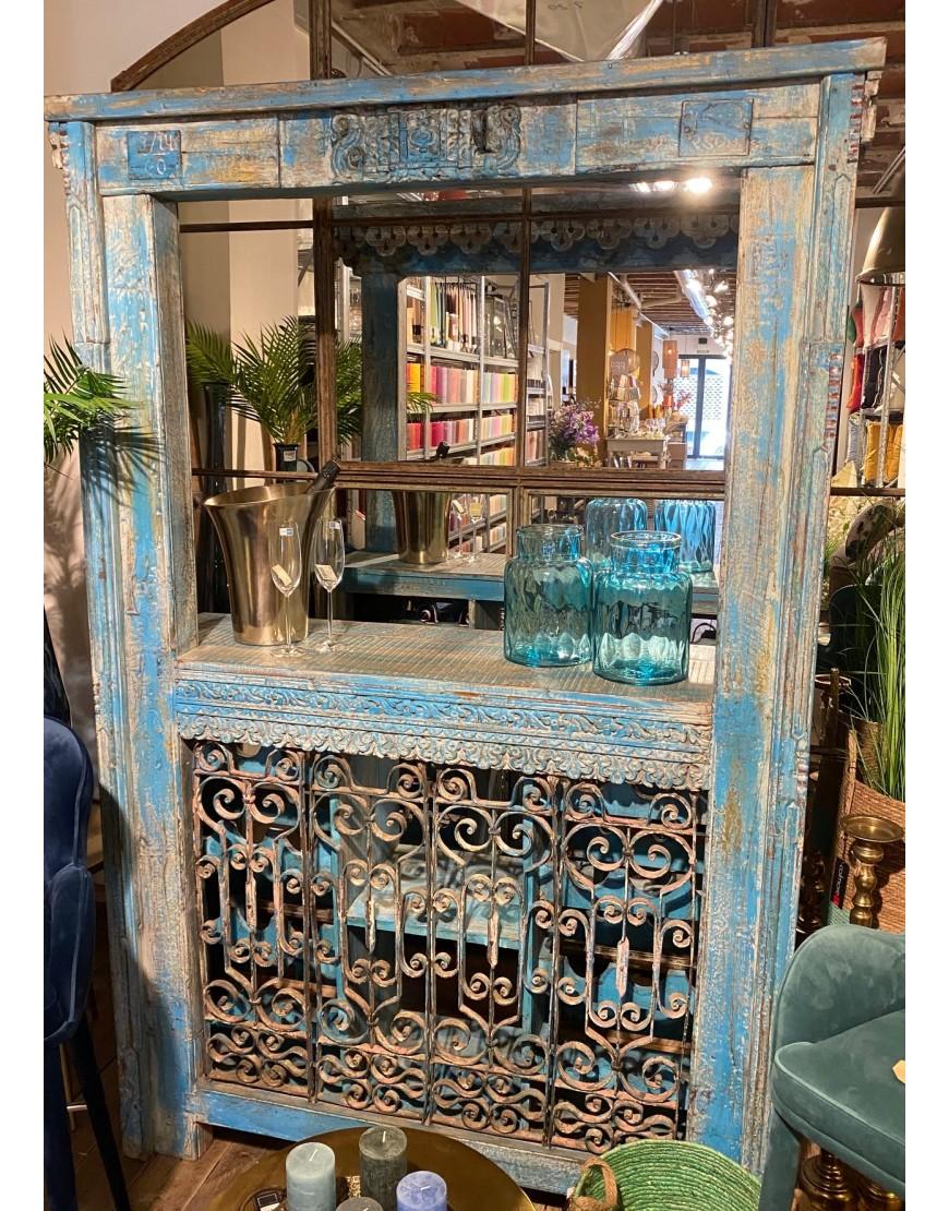 Bar rustico blue