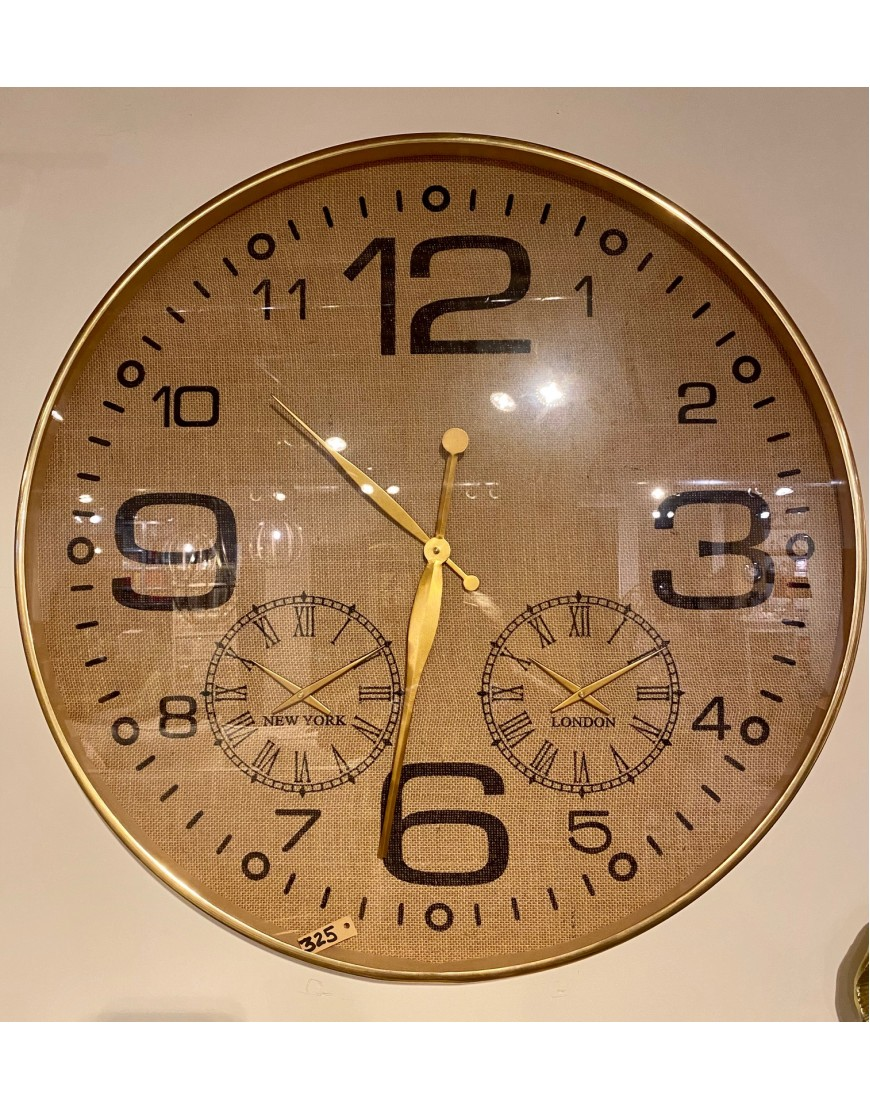 Clock Gold XL