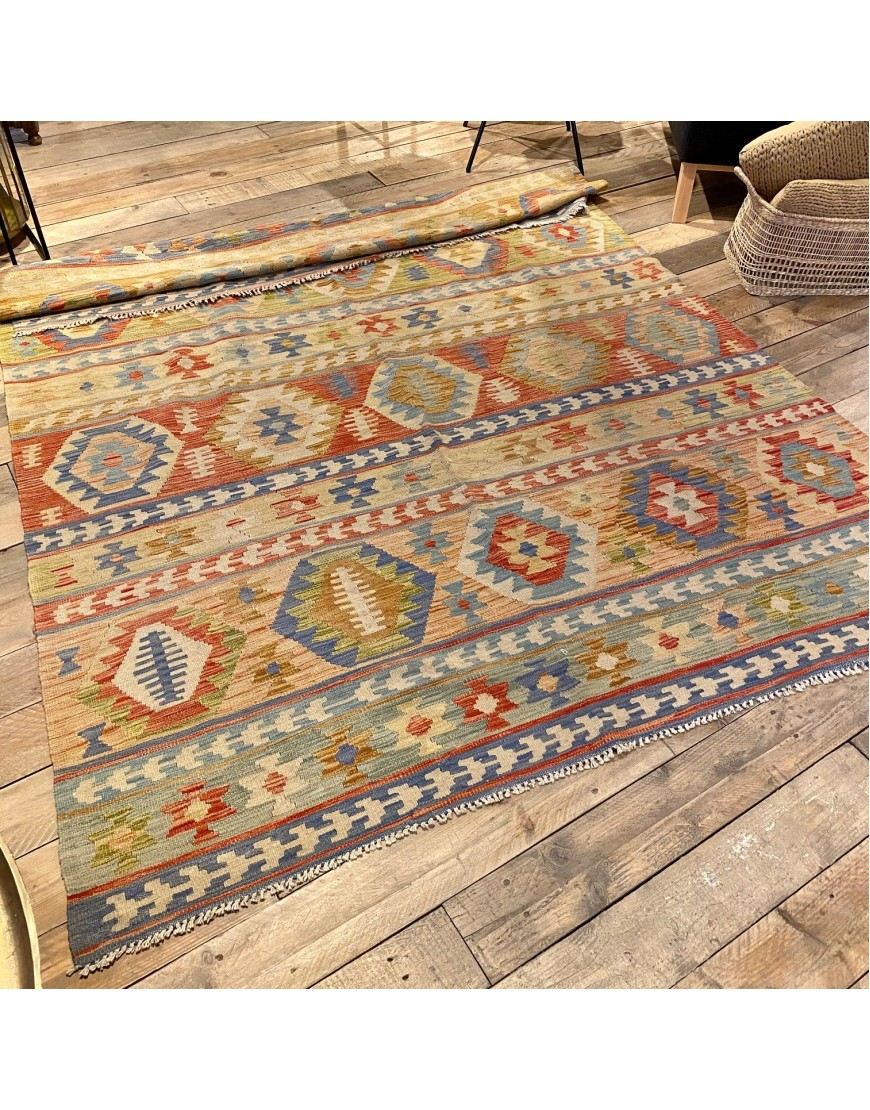 Rug Kelim Multi-colour