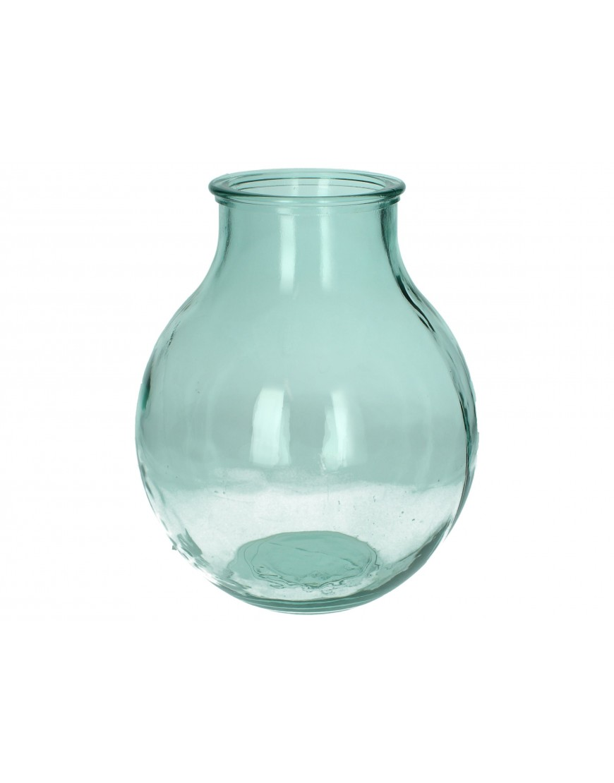 Vase Green / Blue 38x29x29cm