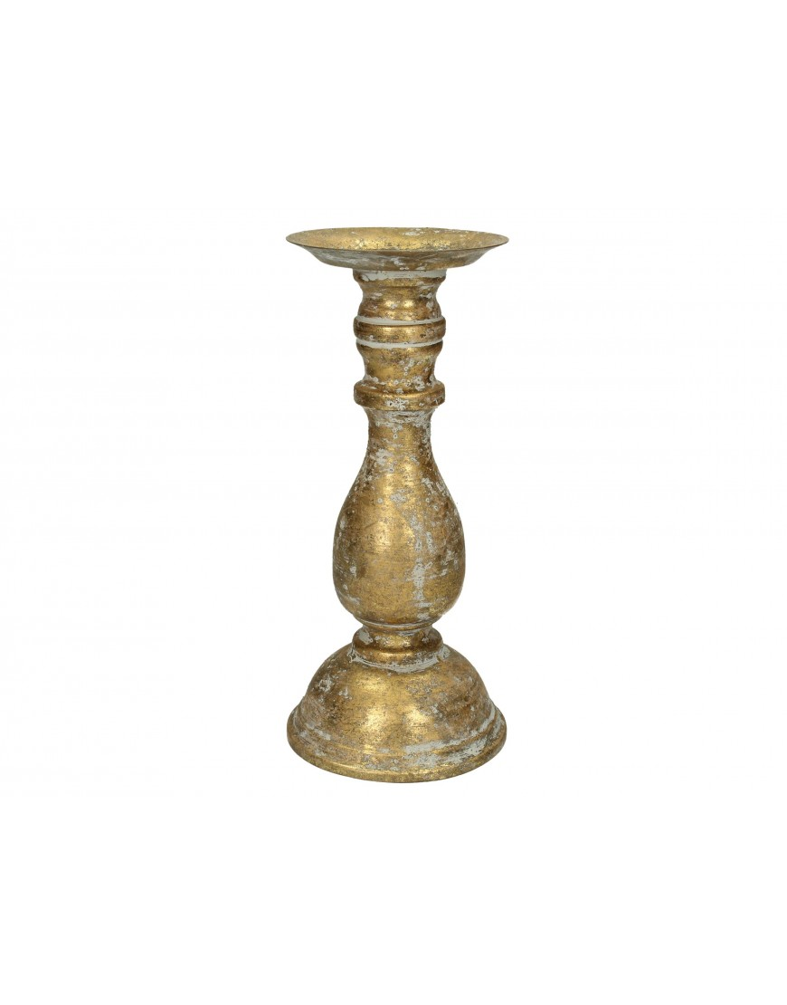 Candle Holder Gold 26-12-12