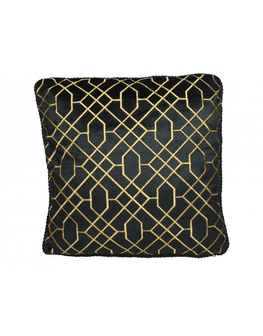 Cushion Gold & Black