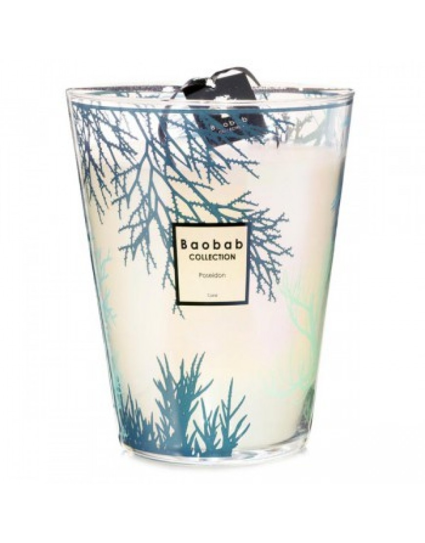 Coral Scented Candle - Poseidon Max 24