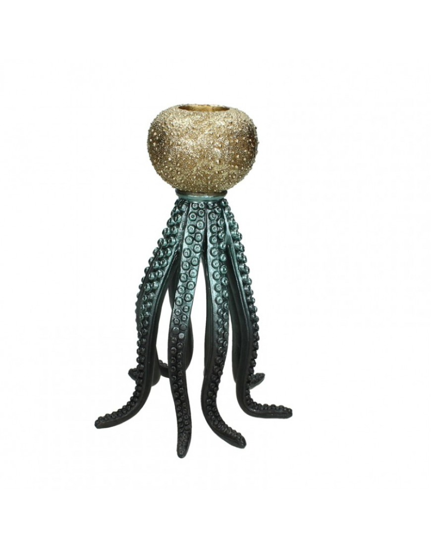 Candle Holder Octopus Leg L