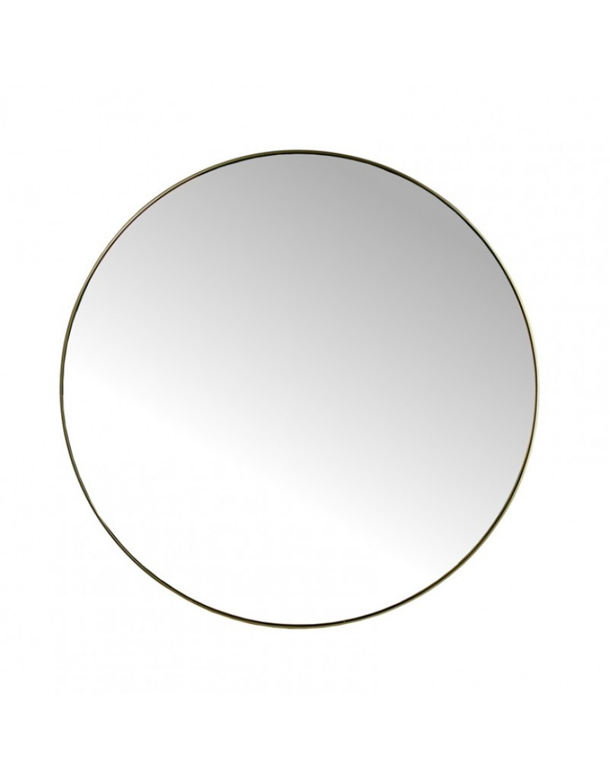 Mirror Round Gold XL
